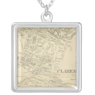 Claremont PO Silver Plated Necklace