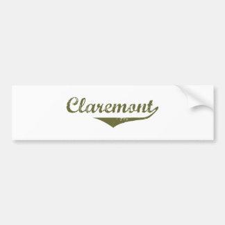 Claremont Revolution t shirts Car Bumper Sticker