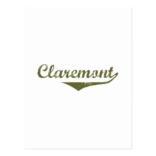 Claremont Revolution t shirts Postcard