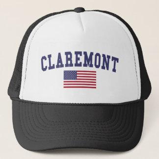 Claremont US Flag Trucker Hat