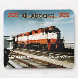Claremore Local, Oklahoma Mouse Pad