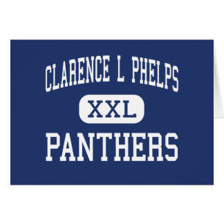 Clarence L Phelps Panthers Middle Ishpeming Card