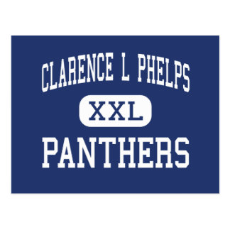 Clarence L Phelps Panthers Middle Ishpeming Postcard
