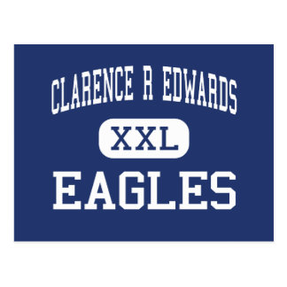 Clarence R Edwards Eagles Middle Charlestown Postcard