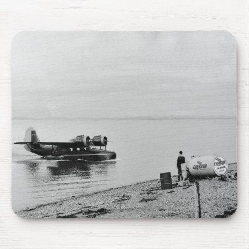 Clarence Rhode que vara el avión Alfombrilla De Ratones