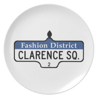Clarence Square Toronto Street Sign Plate
