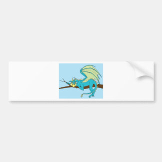 Clarence the Baby Dragon Bumper Sticker
