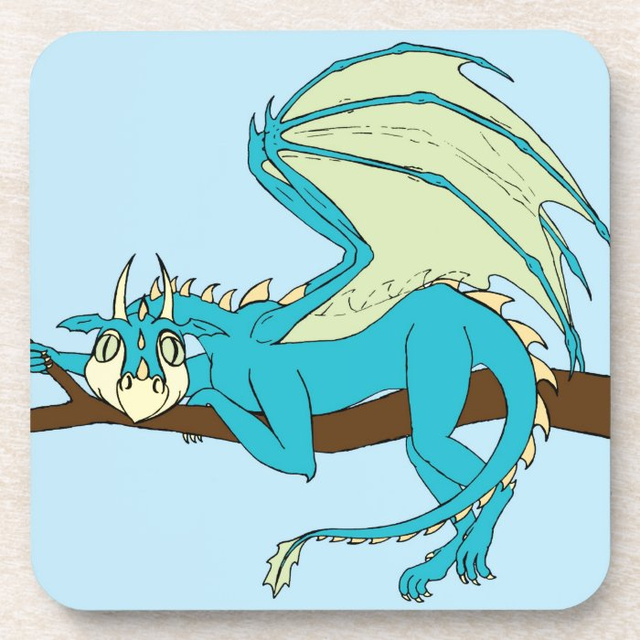 Clarence the Baby Dragon Coaster