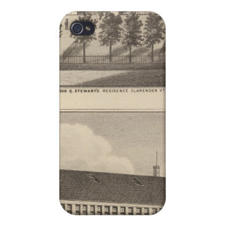 Clarendon Bickford Knitting Machine iPhone 4/4S Cases