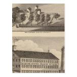 Clarendon Bickford Knitting Machine Postcards