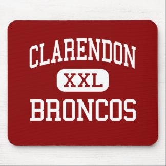 Clarendon - Broncos - High - Clarendon Texas Mouse Pad