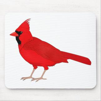 Claret Cardinal Mouse Pad