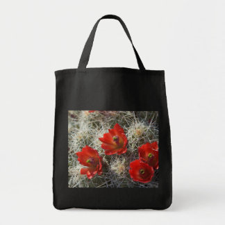 Claret Cup Cactus Floral Gift Tote Grocery Tote Bag
