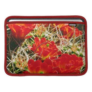 Claret Cup Cactus Wildflowers Sleeves For MacBook Air
