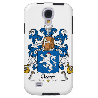 Claret Family Crest Galaxy S4 Case