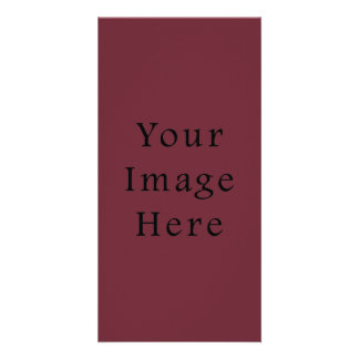 Claret Maroon Red Color Trend Blank Template