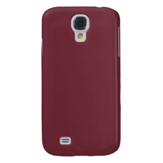 Claret Maroon Red Color Trend Blank Template Samsung Galaxy S4 Cover