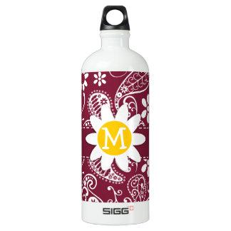 Claret Paisley; Floral; Daisy SIGG Traveler 1.0L Water Bottle