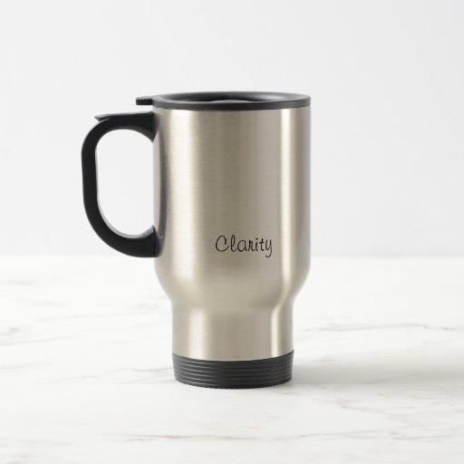 Claridad Tazas De Café