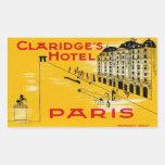 Claridge' S Hotel (Paris) Stickers