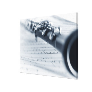 Clarinet 2 canvas print