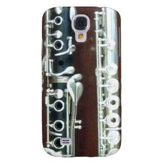 Clarinet and Flute Duo Galaxy S4 Case
