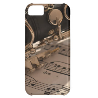 Clarinet and Music Sheets Case For iPhone 5C