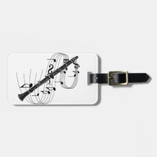 Clarinet Bag Tag