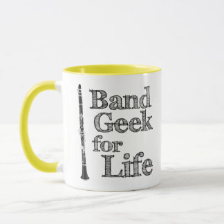 Clarinet Band Geek Mug