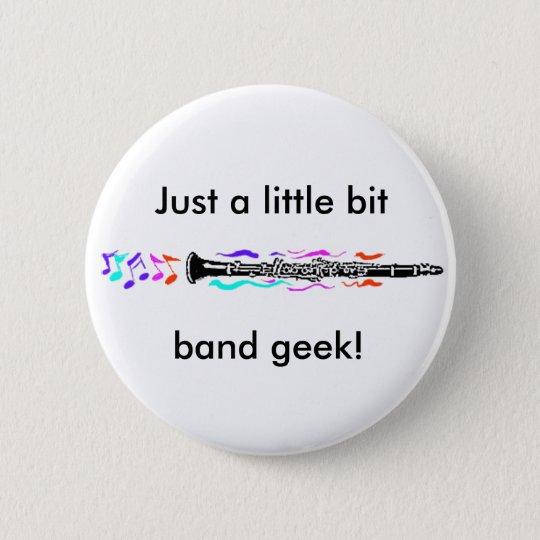 Clarinet Band Geek Pinback Button
