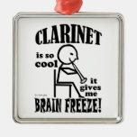 Clarinet, Brain Freeze Ornaments