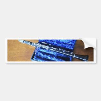 Clarinet Bumper Sticker