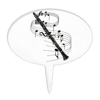 Clarinet Cake Topper