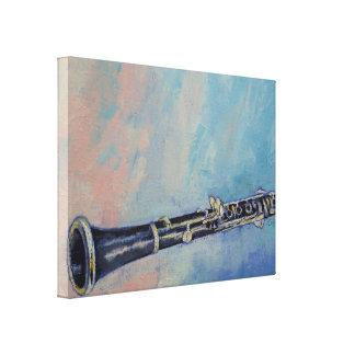 Clarinet Canvas Prints