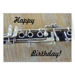 Clarinet Card