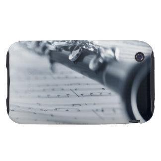 Clarinet Tough iPhone 3 Cover