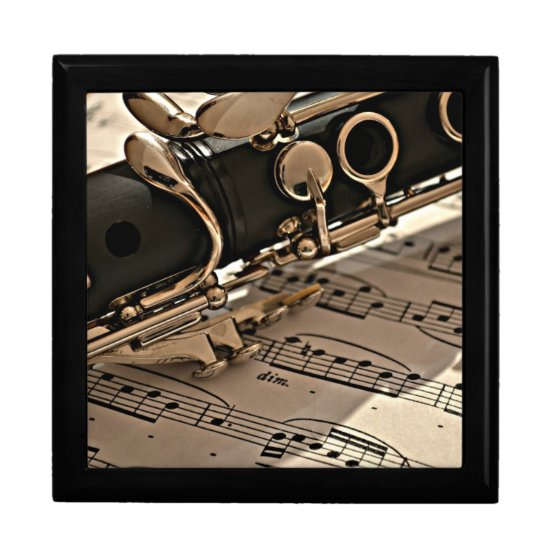 Clarinet Closeup Gift Box