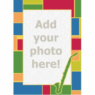 Clarinet Colorblocks del alto Imán Fotoescultura