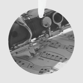 Clarinet con partitura