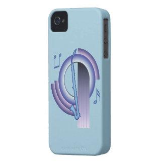 Clarinet del alto de Deco iPhone 4 Cárcasa