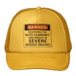 Clarinet del alto del peligro gorro de camionero