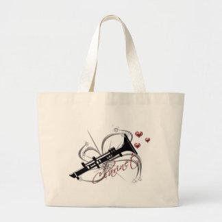Clarinet del amor bolsas
