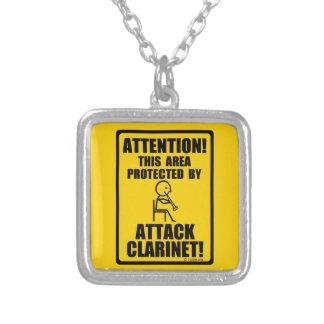 Clarinet del ataque collar personalizado
