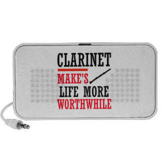 clarinet design notebook speaker