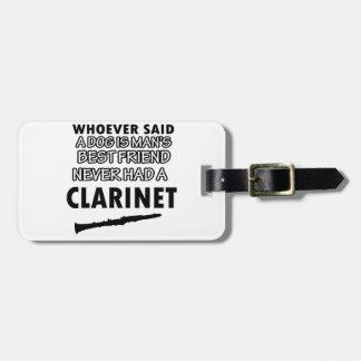 clarinet Designs Bag Tag