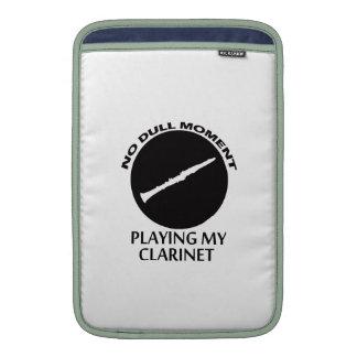 clarinet designs MacBook sleeves