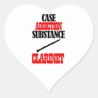 Clarinet designs sticker