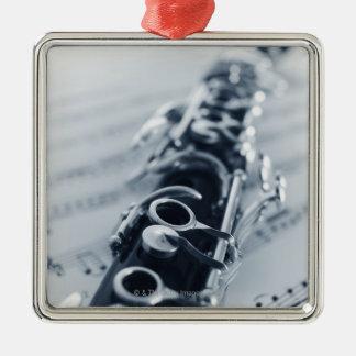 Clarinet detallado ornamentos de reyes