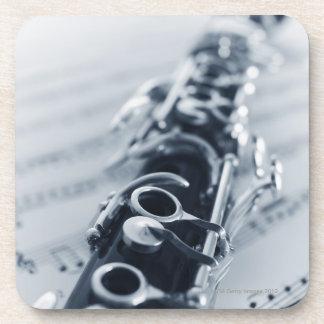 Clarinet detallado posavasos