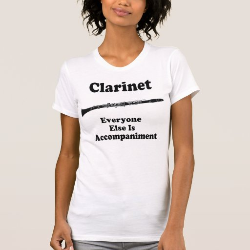 Clarinet Gift Shirt